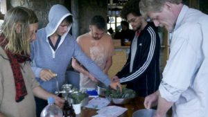 Learning to make herbal medicine