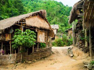 A Lahu village in Thailand