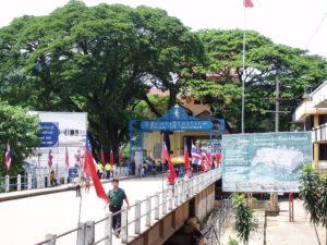 The Thailand - Myanmar border