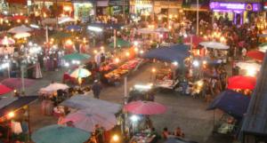 The Chiang Mai night market