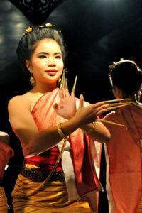 The Thai fingernail dance