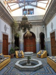 Palais Sebban courtyard