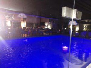Movenpick hotel rooftop pool bar