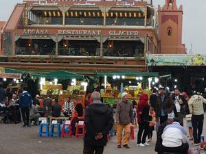 Jama el F'na marketplace